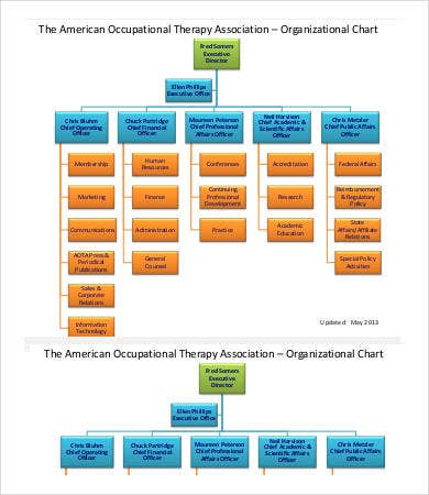 Staff Organization Chart Sample