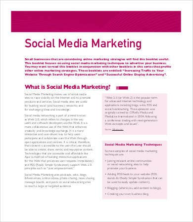 advertising media plan template - social media plan template 8 free word pdf documents