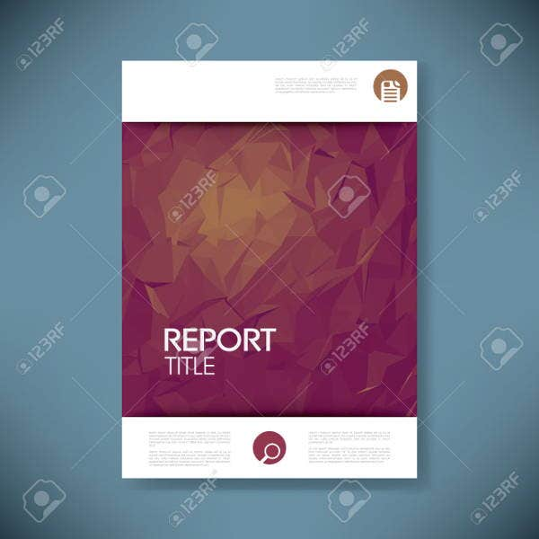 6+ report covers - free psd, vector eps format download | free, Presentation templates
