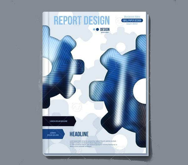 6 report covers free psd vector eps format download free