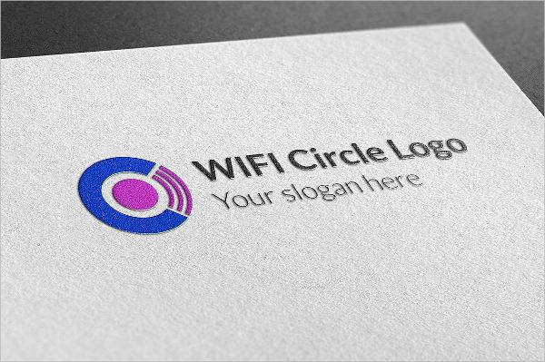 Wifi Circle Logo