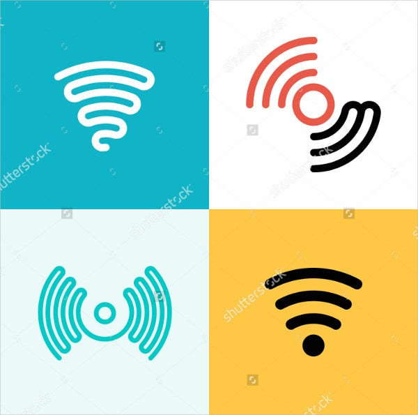 wifi logos 9 free psd vector ai eps format download