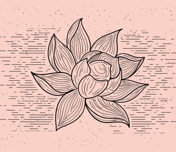 Printable Flower Shape Template