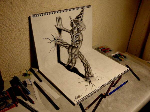 best 3d drawings