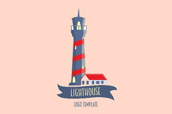 lighthouse-logo-in-flat-style