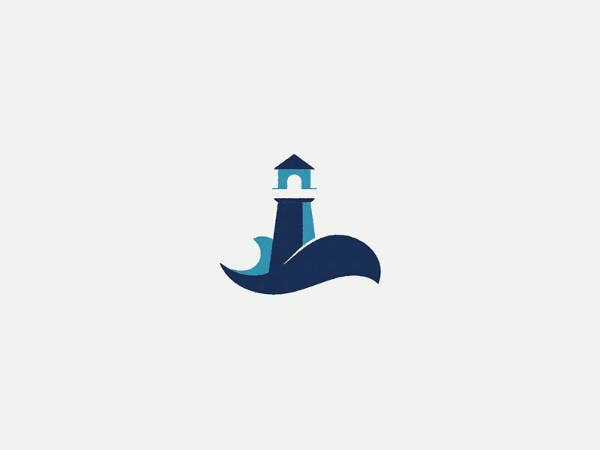modern-lighthouse-logo