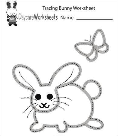 Free Printable Preschool Tracing Worksheet