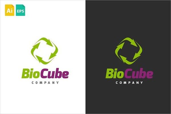 Recycling Company Logo