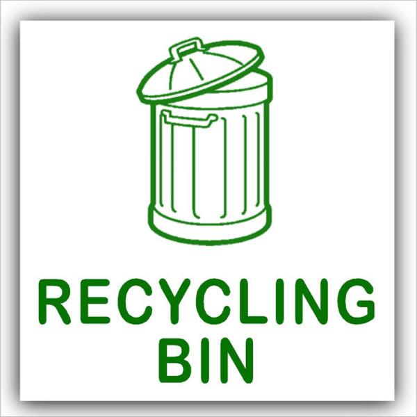 Recycling Bin Logo