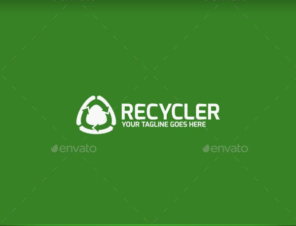Small Recycling Logo