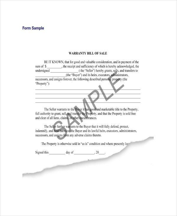 Free Liability Release Forms. Furniture Bill Of Sale | Free U0026 Premium  Templates