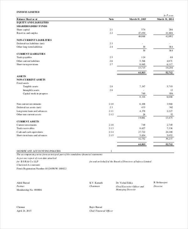 printable accounting balance sheets