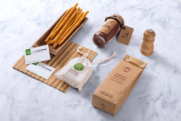 coffee branding packages mockup