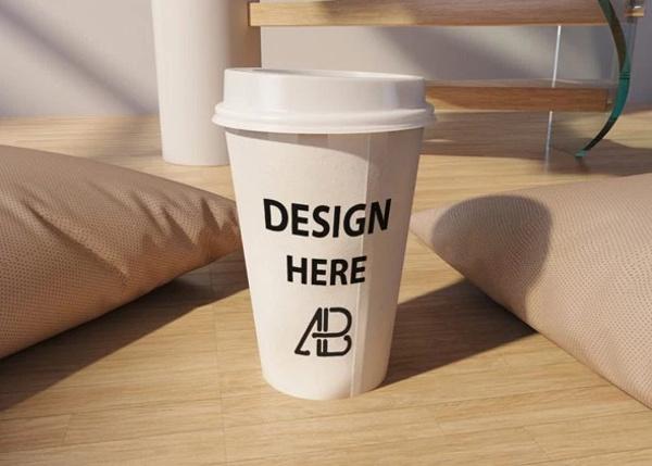 Realistic Psd Coffee Cup Mockup
