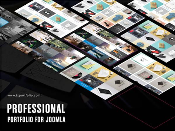 professional free joomla template