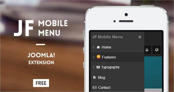 free mobile joomla template1
