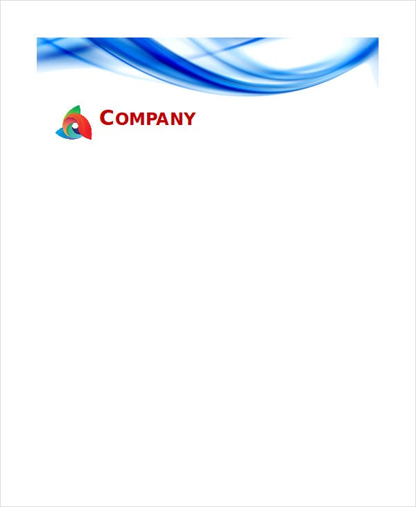 Free letterhead templates 7 free pdf word document download free free blank letterhead template spiritdancerdesigns Gallery