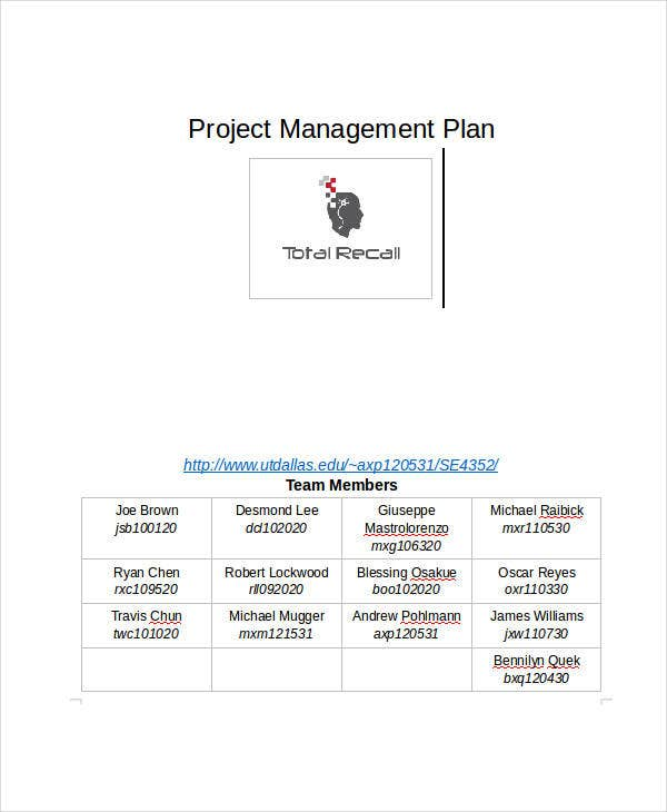 project management history timeline