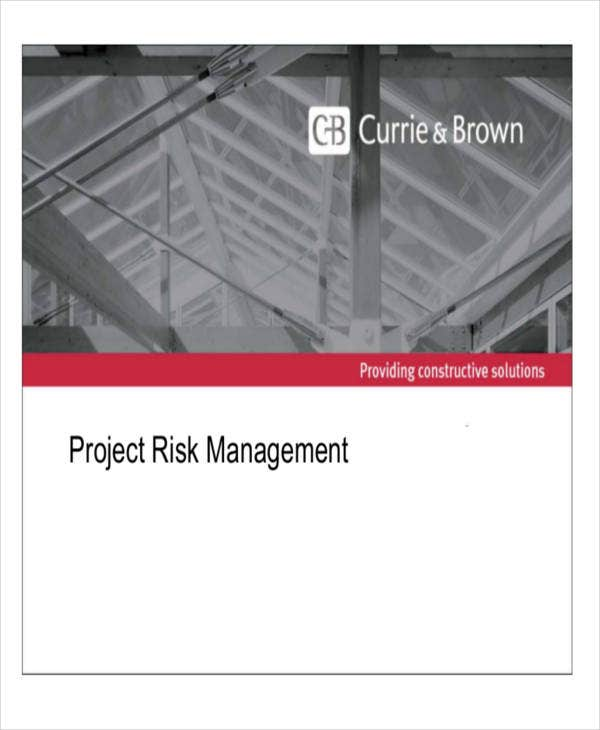 project risk management timeline template