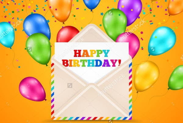 Sample Happy Birthday Email See A Sample Birthday Email Birthday – Email a Birthday Card