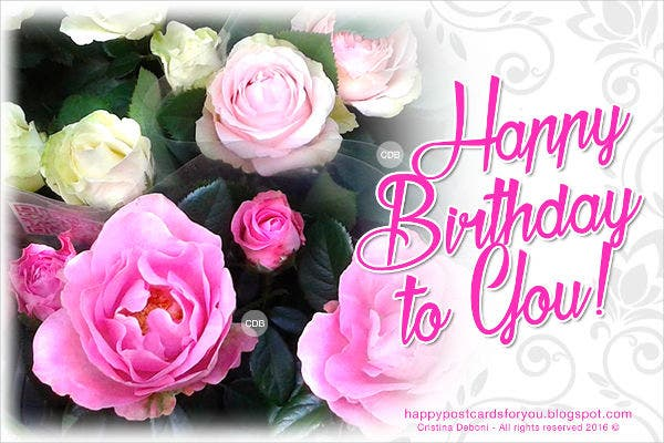 9 Email Birthday Cards Free Sample Example Format Download – Birthday Cards Pics Free