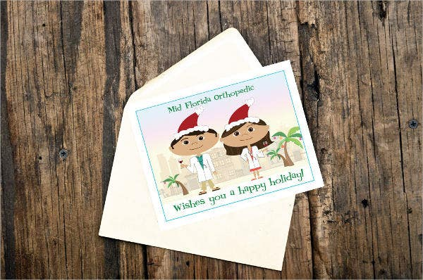 Funny Business holiday Card