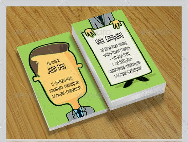 Funny Businessman Card
