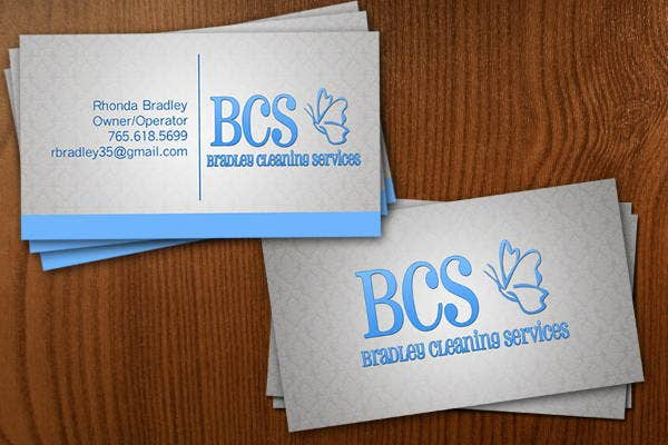 Cleaning Company Business Card