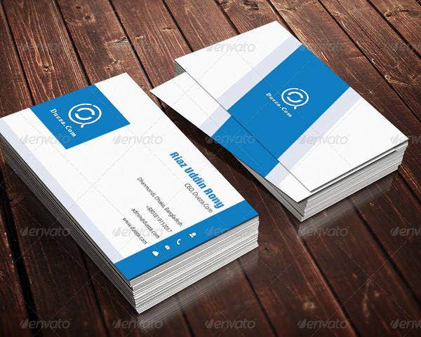 Modern Cleaning Business Card