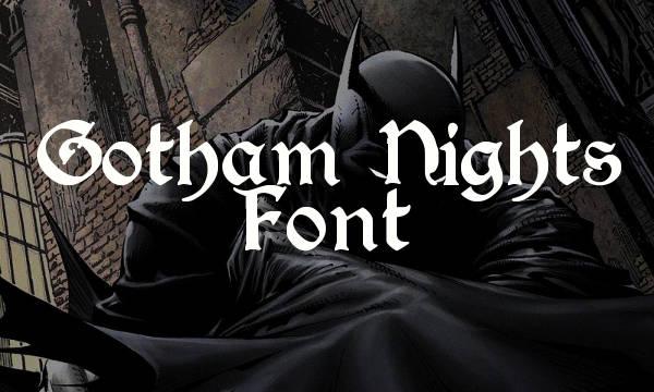 gothic-batman-font
