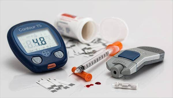 editable blood glucose level charts