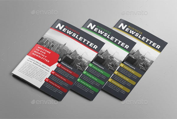 printable newsletter presentation