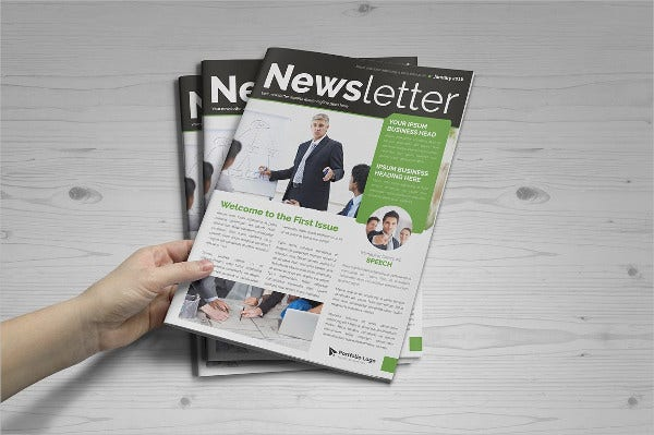 Newsletter Design Templates Indesign Image Gallery - Hcpr