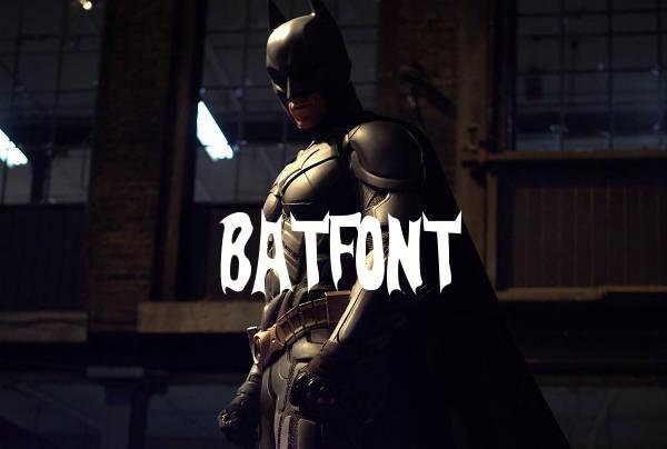 batman-letter-font