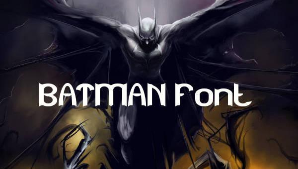 Batman Font 7 Free Ttf Otf Format Download Free Premium Templates