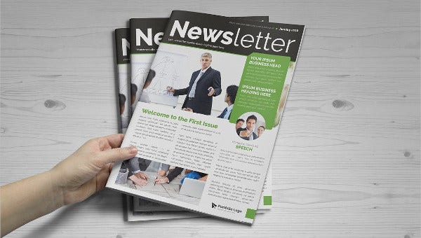 printable newsletter templates