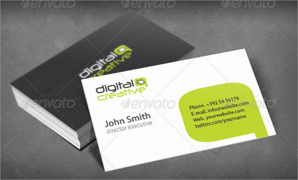 Creative Digital Business Card