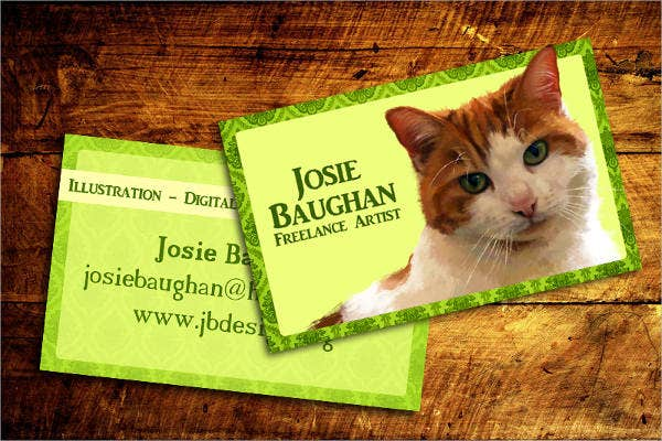 Digital Painting Business Card