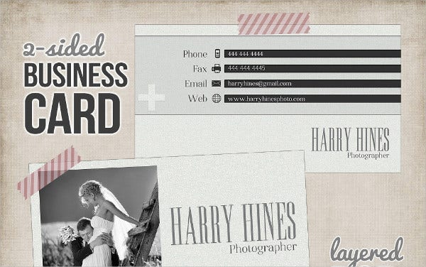 Photography Digital Business Card