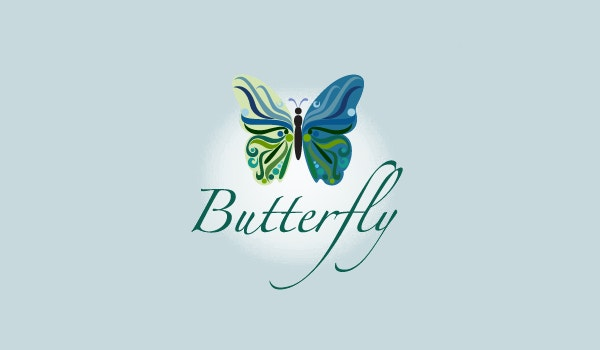 Fashion Butterfly Logo