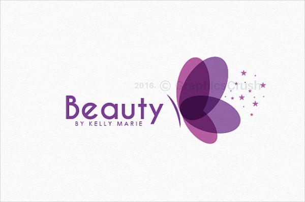 feminine butterfly logo