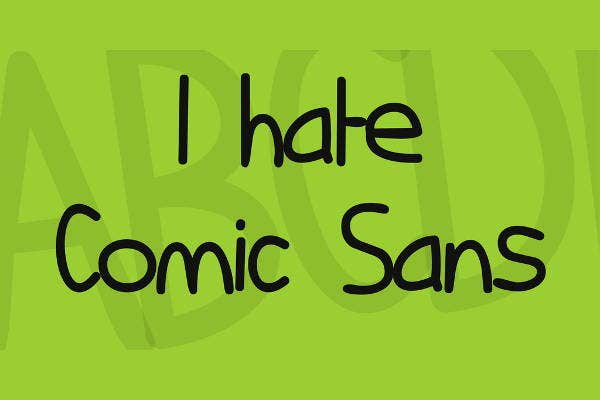 comic-sans-serif-font
