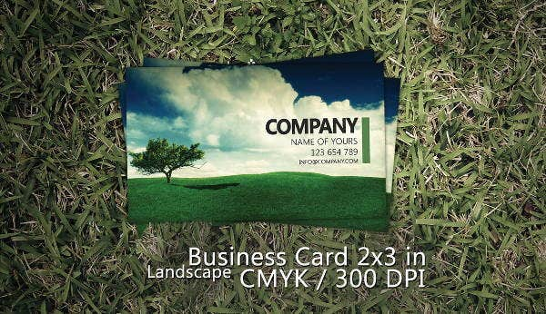 8 landscaping business cards printable psd eps format download professional landscaping business card accmission Images