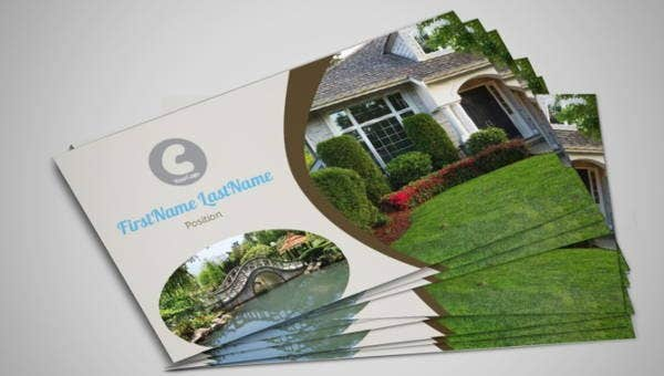 10 Best Landscaping Business Card Templates Pages Ai Psd