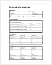 business credit application form download