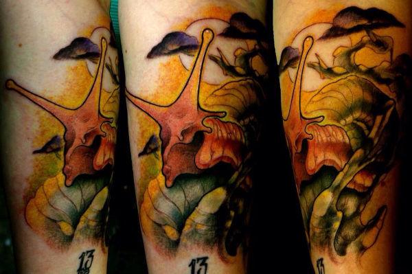Surreal Tattoo Art