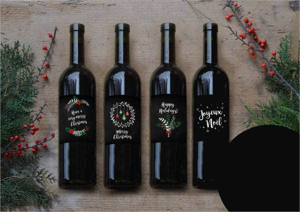 image about Printable Wine Bottle Label called Wine Label - 22+ Free of charge PSD, Vector AI, EPS Layout Obtain