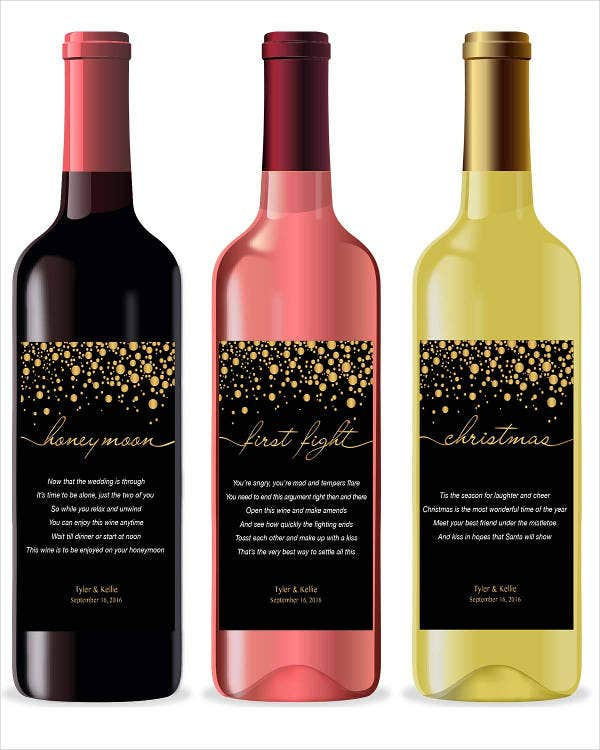 wine label 22 free psd vector ai eps format download free premium templates. Black Bedroom Furniture Sets. Home Design Ideas
