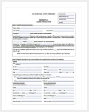 basic house rental application template pdf download
