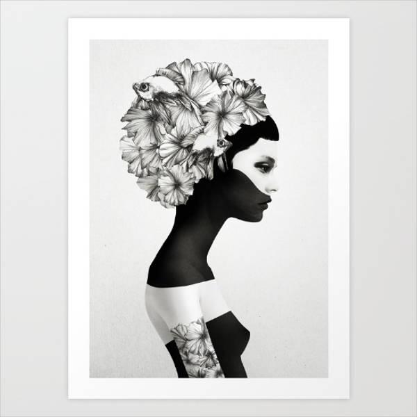 black-and-white-poster-art